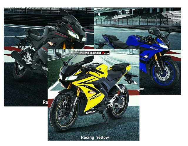 Warna Baru Yamaha All New R15 Versi 2018