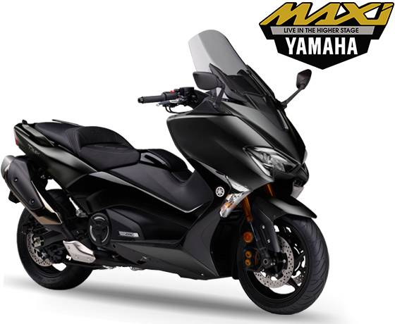 Yamaha TMAX DX 530 Indonesia Warna Hitam