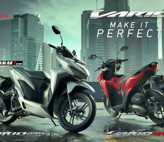 All new Honda Vario 150 dan 125 Facelift 2018