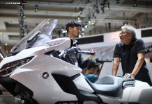 Honda Goldwing Laris Manis di IIMS 2018