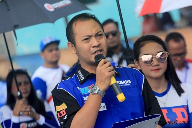 Ferdinanto, Koordinator Area Marketing Development DDS Jawa Barat PT. YIMM Yamaha Cup Race Tasikmalaya P7