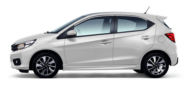 Honda New Brio warna putih