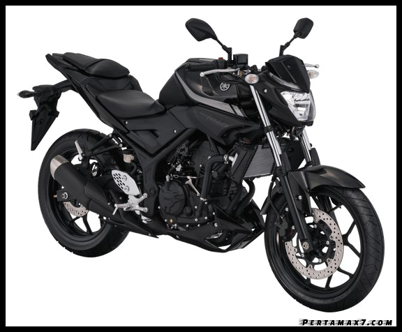 Warna Yamaha MT-25 Versi 2019 Terbaru Black Metallic