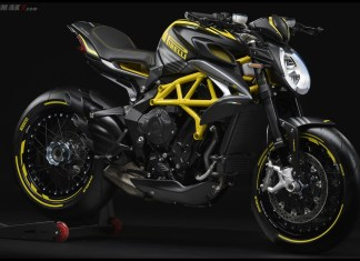 MV AGUSTA Dragster 800 RR PIRELLI Yellow P7