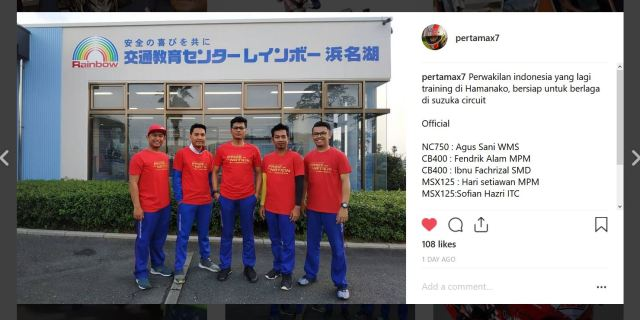 Wakil Indonesia di Safety Japan Instructors Competition ke 19