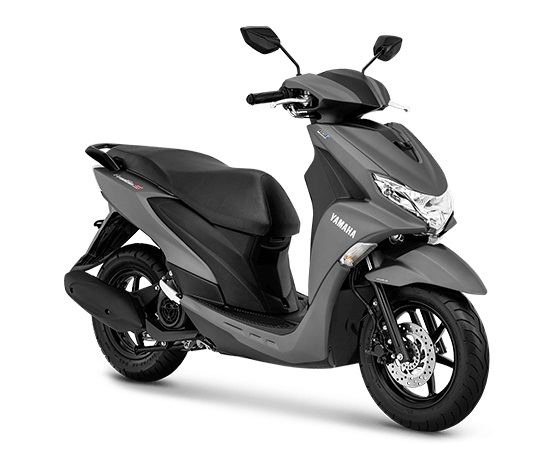 Yamaha FreeGO S ABS Warna abu abu