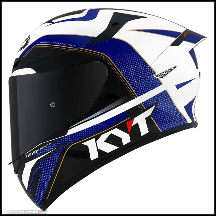 KYT TT Course Grand Prix Blue Red Indonesia