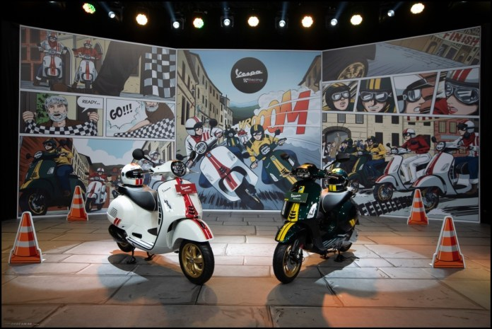 Launching Vespa Racing Sixties Limited Edition Indonesia