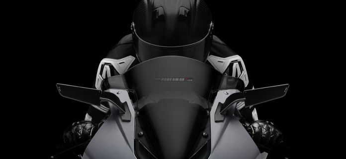 Detail Rizoma Stealth Spion Mode Mirror and Winglet