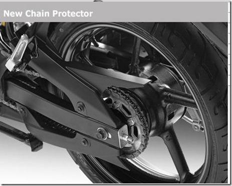 chain protector yamaha byson