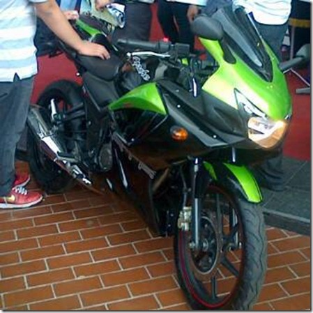 tvs apache rtr 160 faired