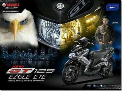 yamaha new GT 125 eagle eye 1