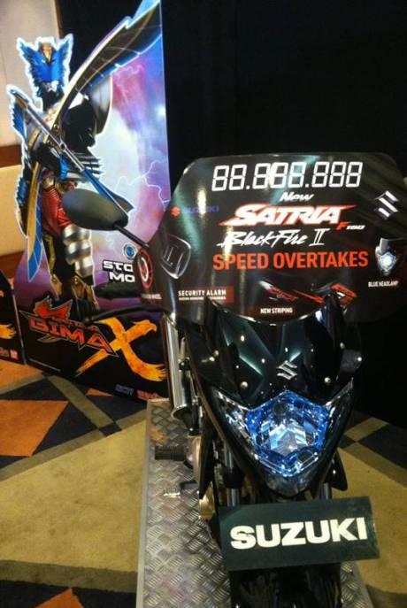 Satria Garuda BIMA-X Percayakan Sepeda Motor Suzuki Berantas Kejahatan