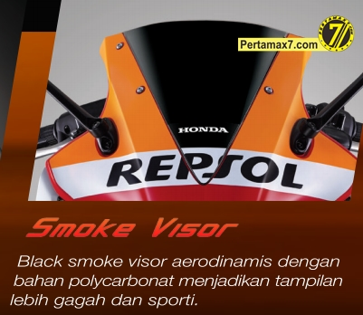 visor all new honda CBR150R 2014