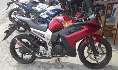 yamaha byson full fairing indonesia