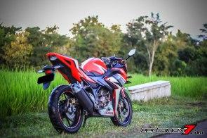 All New Honda CBR150R 2016 Warna Merah Racing Red 63 Pertamax7.com