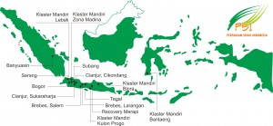 Peta Jaringan Mitra PSI