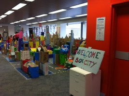 Box City - photo courtesy Sam McGahan
