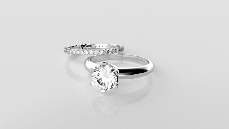 Perth diamonds engagement ring