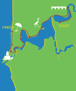 The Bloody Long Walk 2016 Course