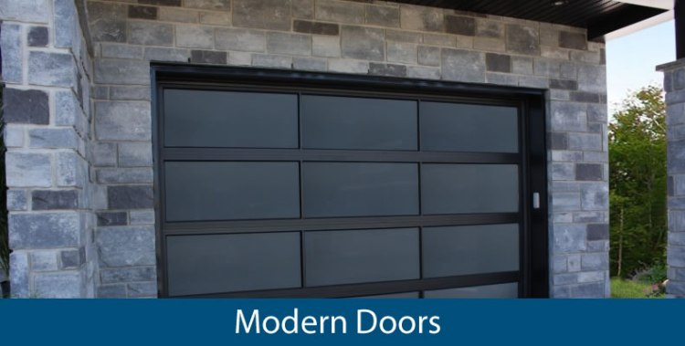 Find out about modern garage doors