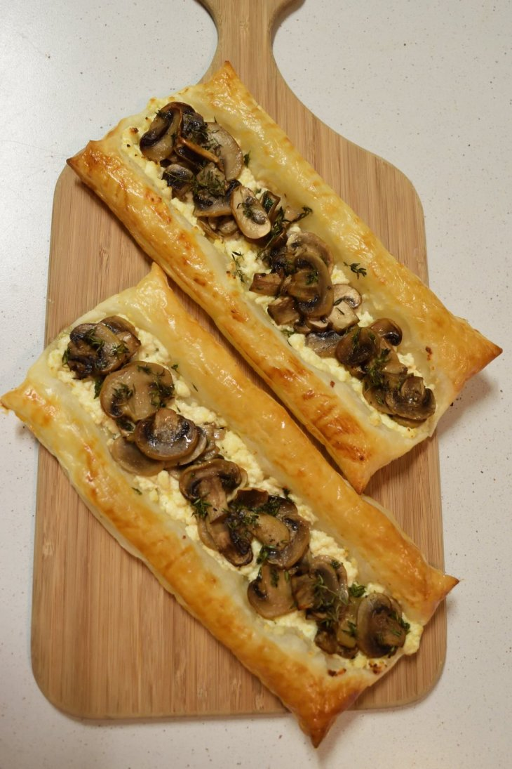 Buy West Eat Best Mushroom and Ricotta Danish