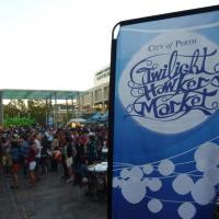 Twilight Hawker's Market