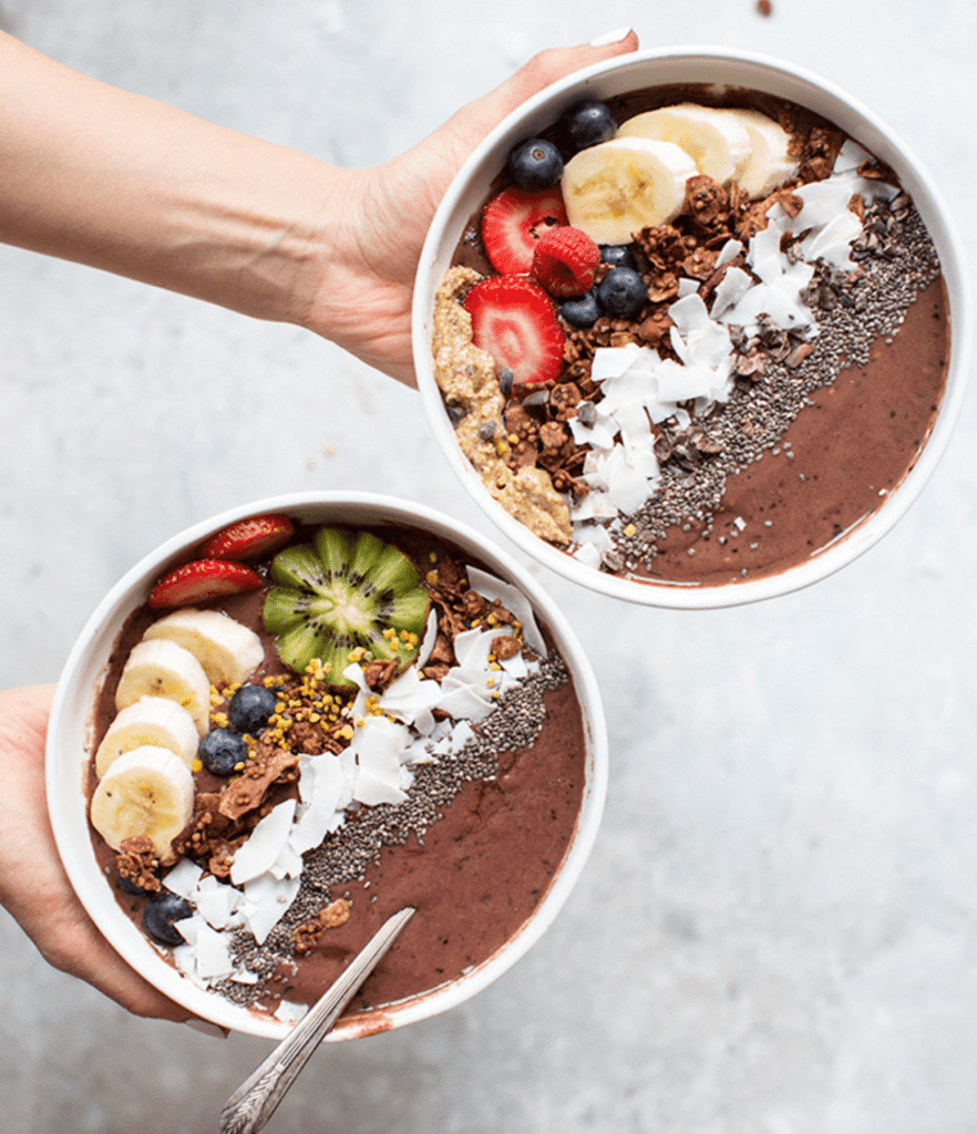 acai chocolate smoothie