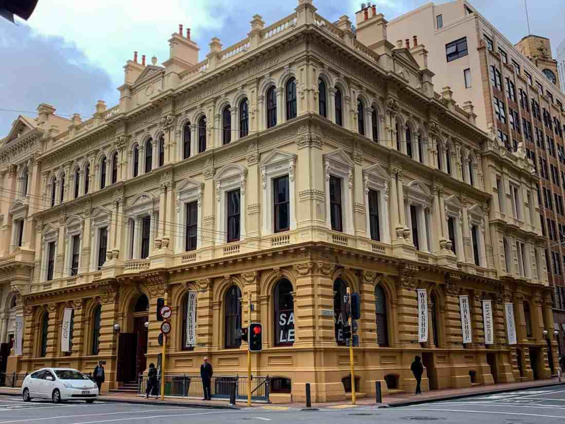 Mutual Life Assoc Building Wellington