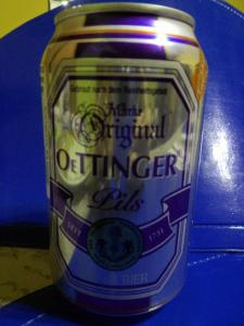 Oettinger Bier , deutsches Bier in Südameriak