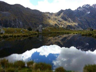 Trekking in den peruanischen Kordilleren – das Santa Cruz Trekking