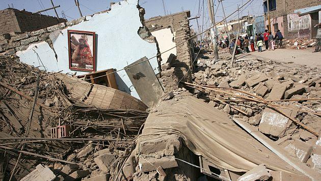 Fenómeno natural sería más devastador que el ocurrido en Pisco en 2007 y dejaría a miles de limeños sin hogares. (Perú21)