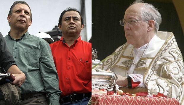 Cipriani fustigó duramente a los líderes cajamarquinos. (USI)