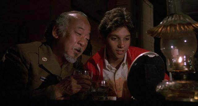 What happened to Mr. Miyagi between the years of