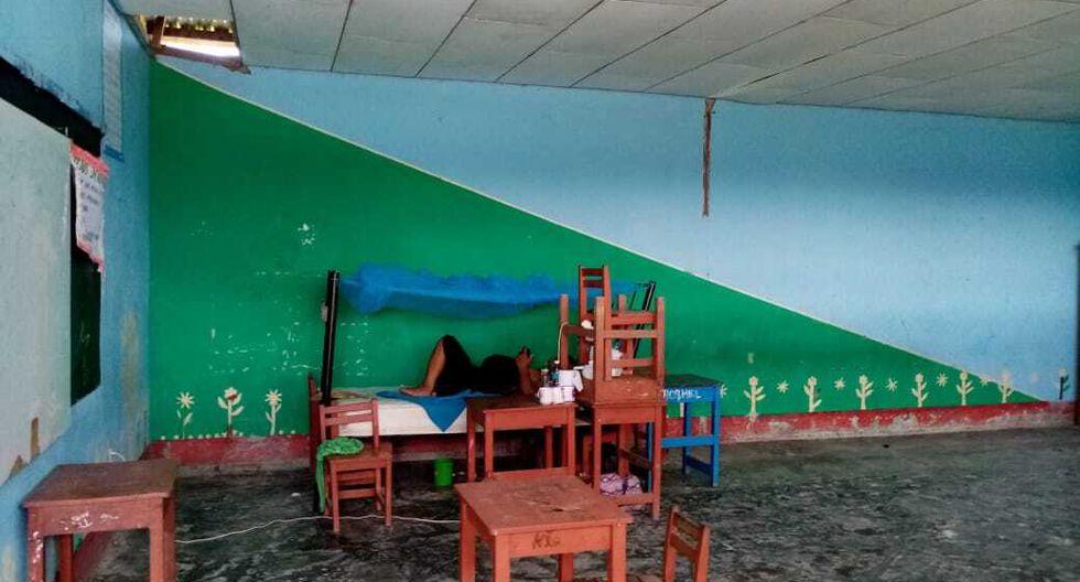 También hay mujeres gestantes quienes necesitan atención urgente. (Foto: Comunidad Pucacuro)