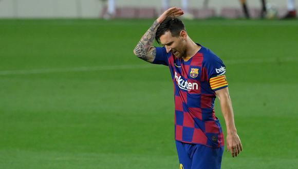 Barcelona: Lionel Messi   La desilusión del astro argentino provocada por  Bayern   FOTO   Champions League nczd   DEPORTES   PERU21