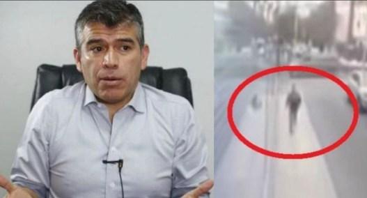 Guzmán fue captado en 2018 huyendo de un apartamento incendiado.