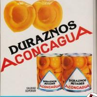 """Duraznos """"Aconcagua""""-1980"""