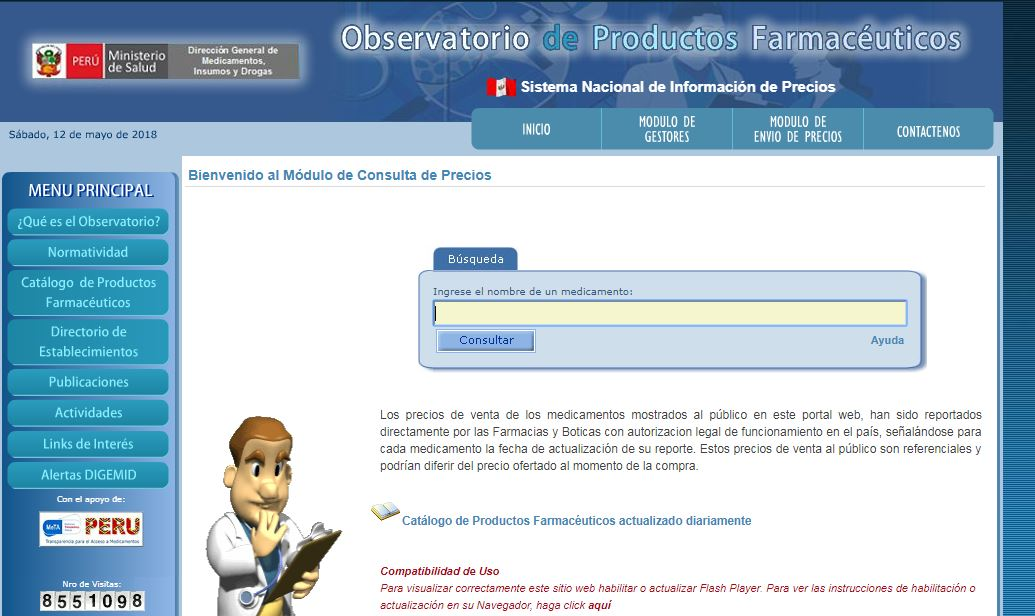 Part 2, Low Cost of Medications in Peru–Ordering in Spanish