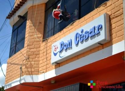 Local de la Cevichería Don Cesar Huaraz