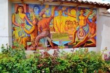 Murales del Cementerio de Huancall-Aija