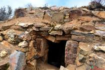 Vista los restos arqueológicos de Chuchunpunta