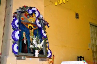 Imágen de Cristo en el interio de la Iglesia Matriz de Aija