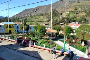 Plaza de Armas del distrito de La Merced