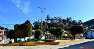 Plaza de Armas de La Merced en Aija.