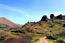 Carretera Aija-Punta Callán.