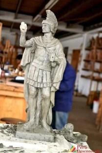 Trabajo a escala de un romano