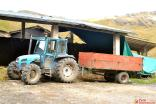 Tractor de la vaquería de Huachucocha