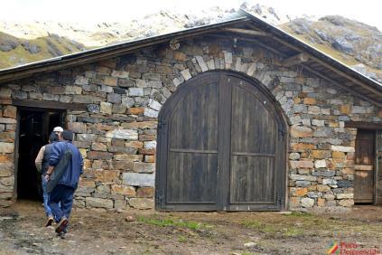 Puerta de ingreso a la Vaquería
