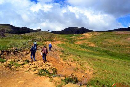 Ascensión a los Restos Arqueológicos de Illauro en la provincia de Carlos Fermín Fitzcarrald